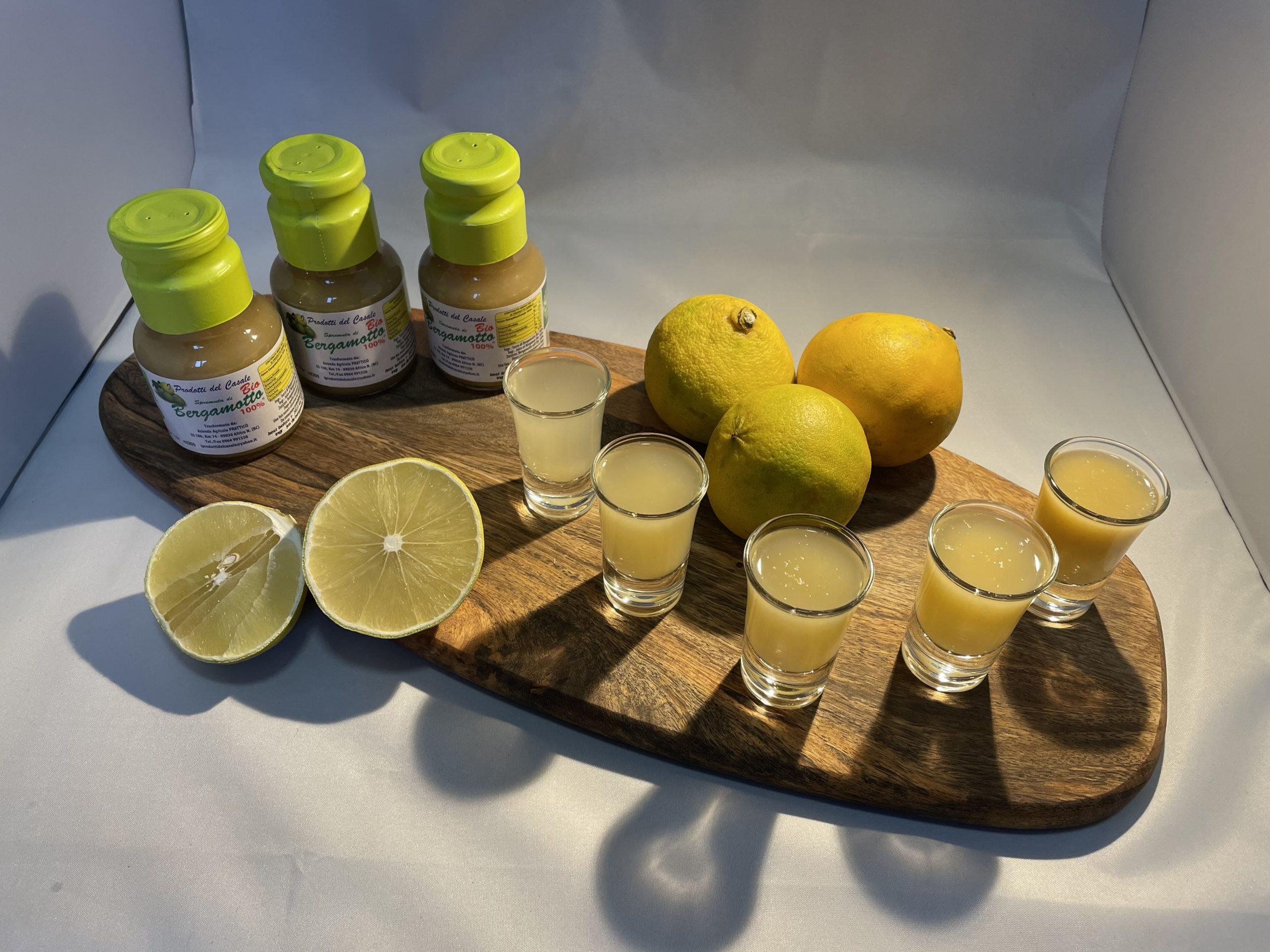 Jus de bergamotte pack de 12 bouteilles - produit d'italie - calabre