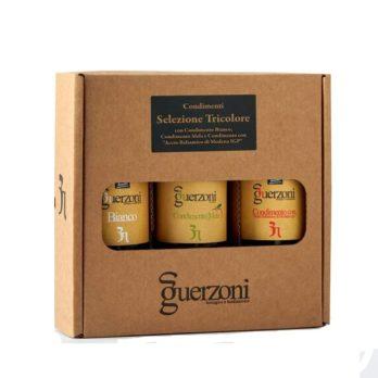 selezione tricolore 3 bouteilles de condiments italiens dans la boutique Bergamotto