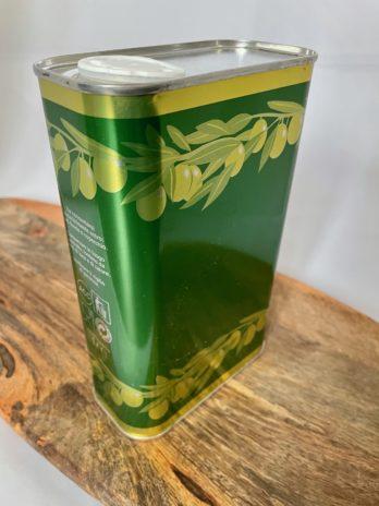 Huile d'olive en bidon d'un litre