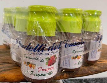 pack de jus fraise bergamote